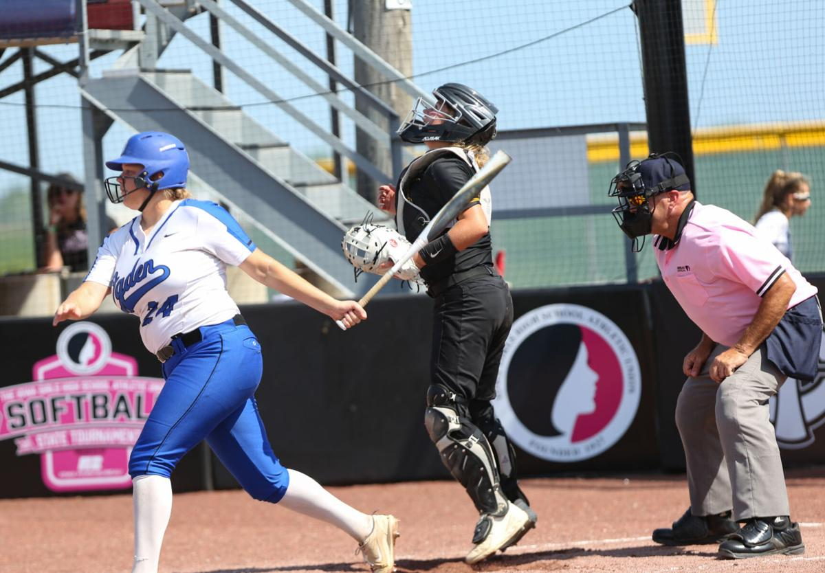 Louisa-Muscatine softball vs Ogden semi-finals