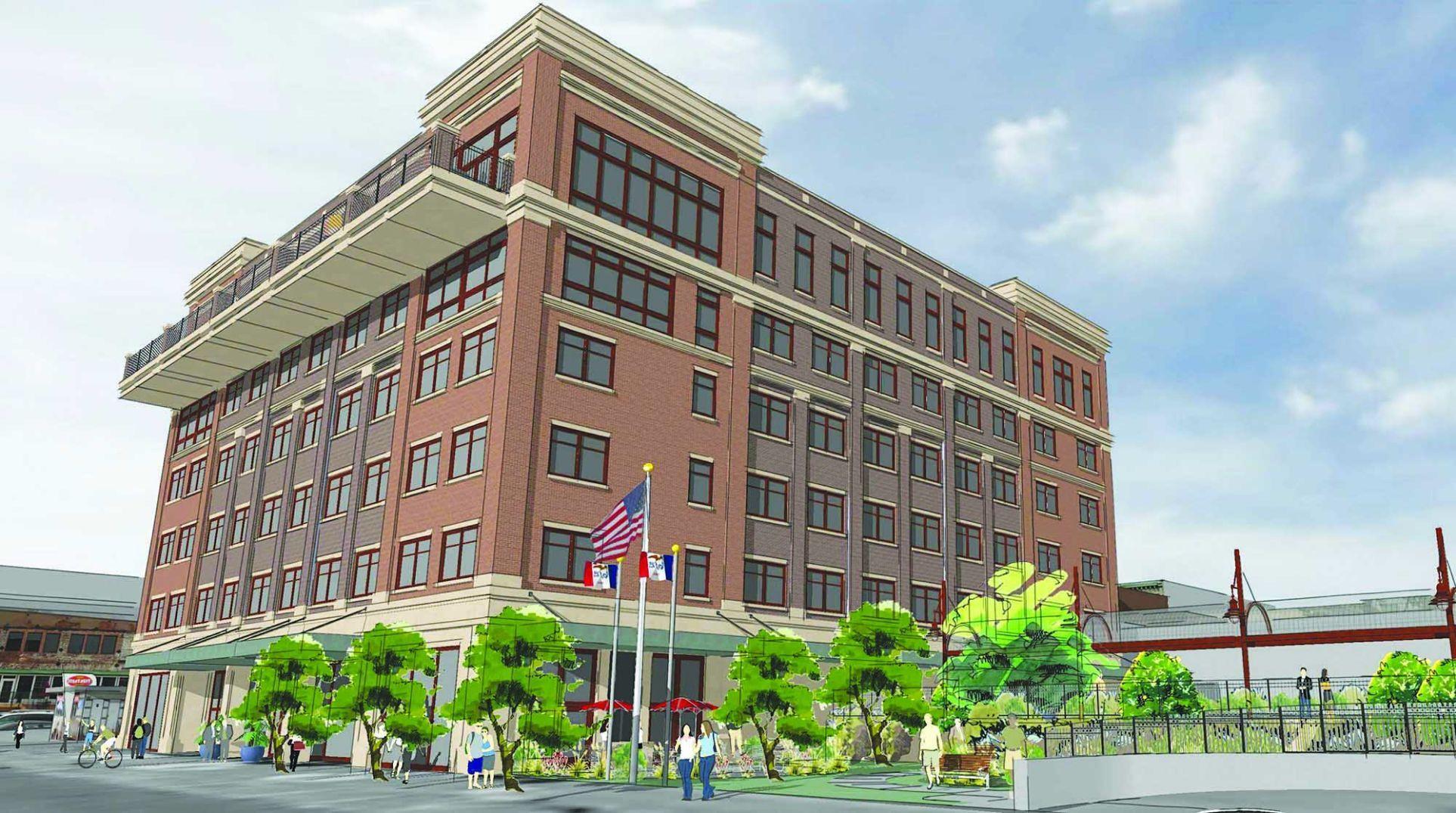 developers unveil 42 million muscatine hotel project qctimes com rh qctimes com