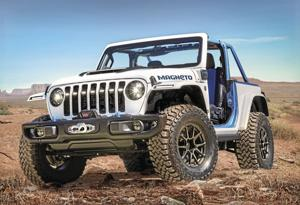 2023 Jeep Wrangler Magneto.
