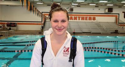 Moline senior swimmer Sophie Greko