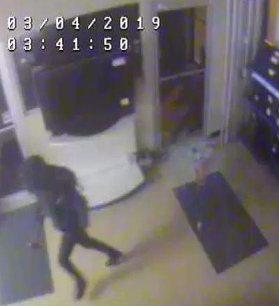 Burglary suspect