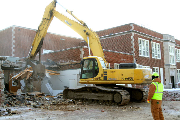 Audubon demolition