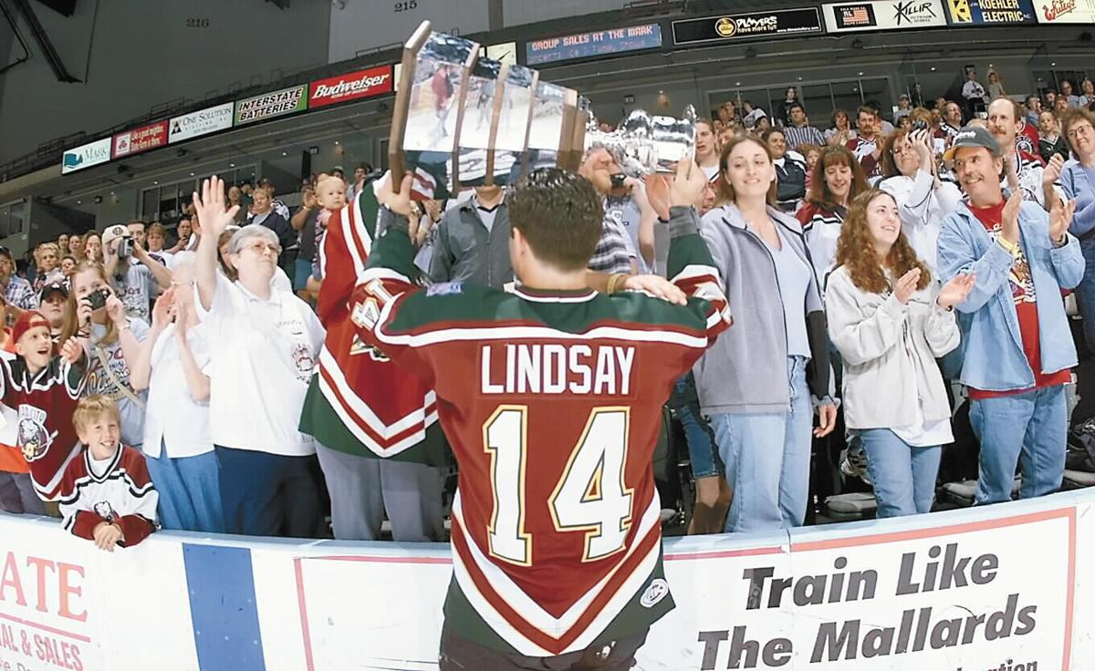 Ryan Lindsay, Mallards Hockey