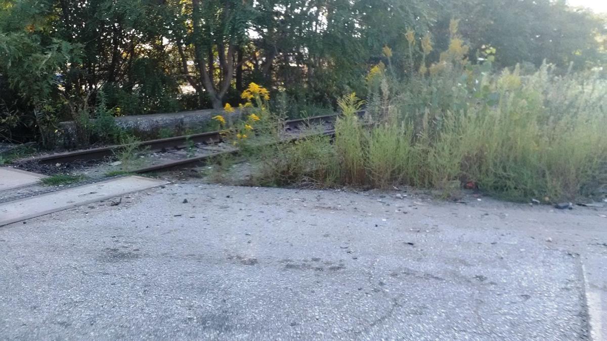 Railroad tracks at Schmidt Road