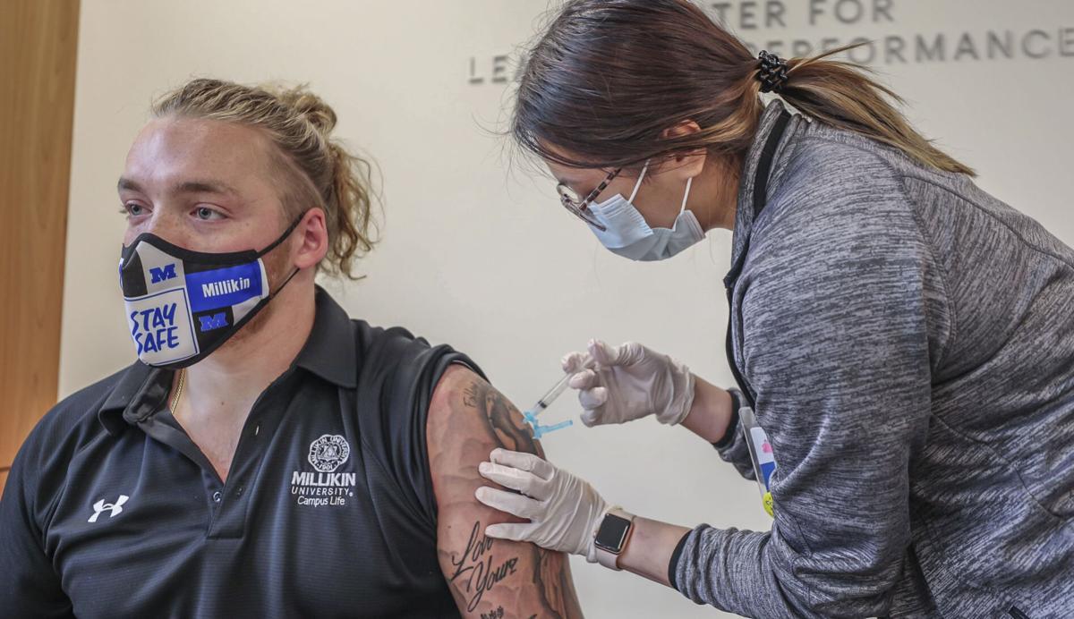 Millikin University - Vaccine - File