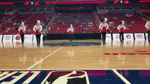 WATCH NOW: Wapello begins its Pom routine Tuesday, Nov. 17, 2020, at the ISDTA State Dance Team & Solo Championships in Des Moines.