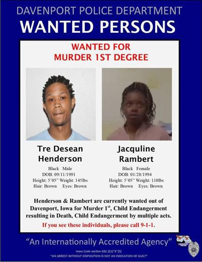 Henderson-Rambert wanted poster