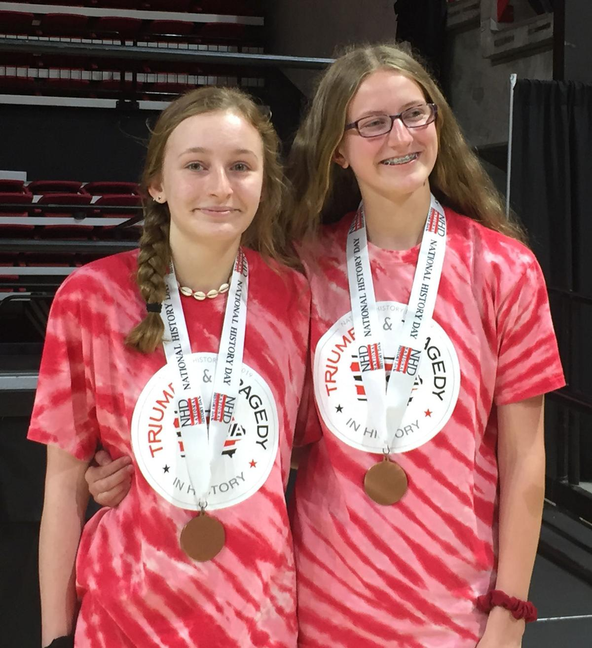 Local students place third at finals of National History Day Contest