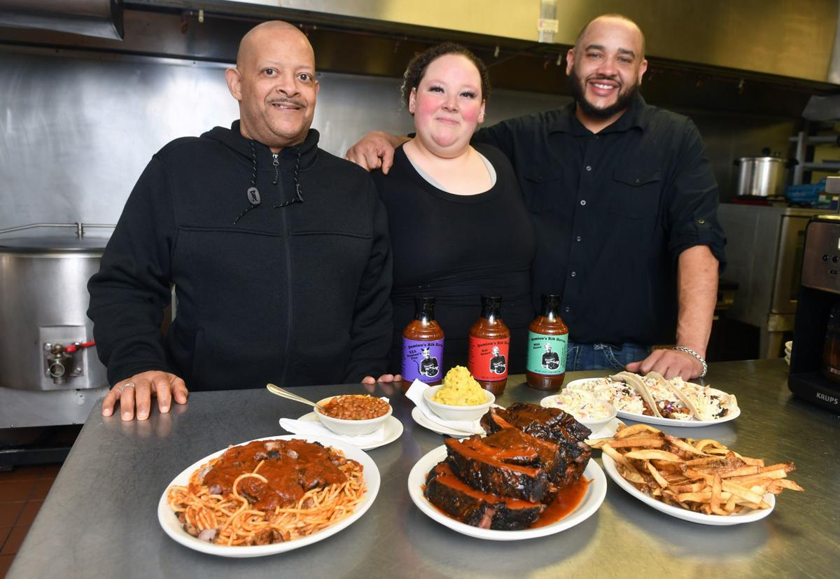 Damion's Rib Haven in East Moline.
