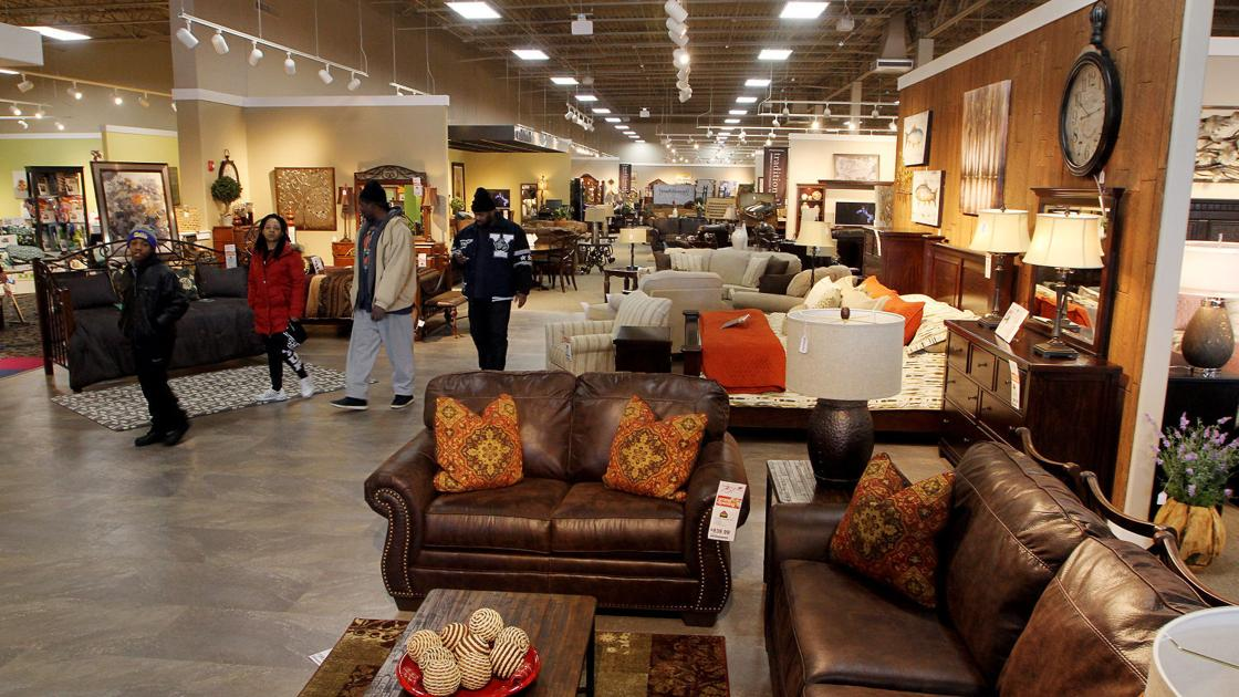 Ashley Furniture Officially Joins Elmore Avenue Retail Lineup Economy Qctimes