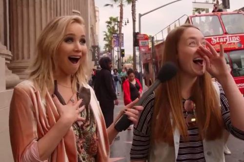 Jennifer Lawrence Asks People On The Street To Name Five Of Her Movies
