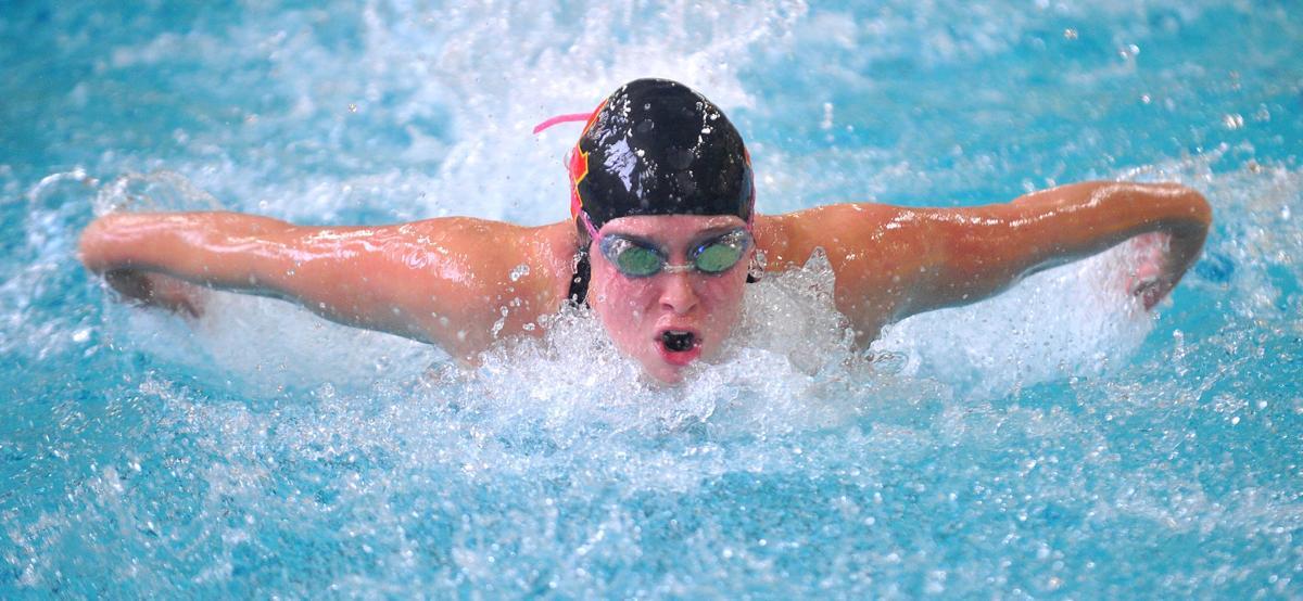 Rock Island Sectional girls swimming
