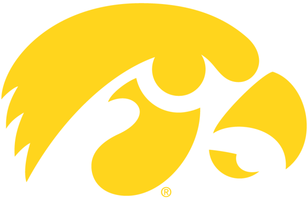 Hawkeyes logo yellow