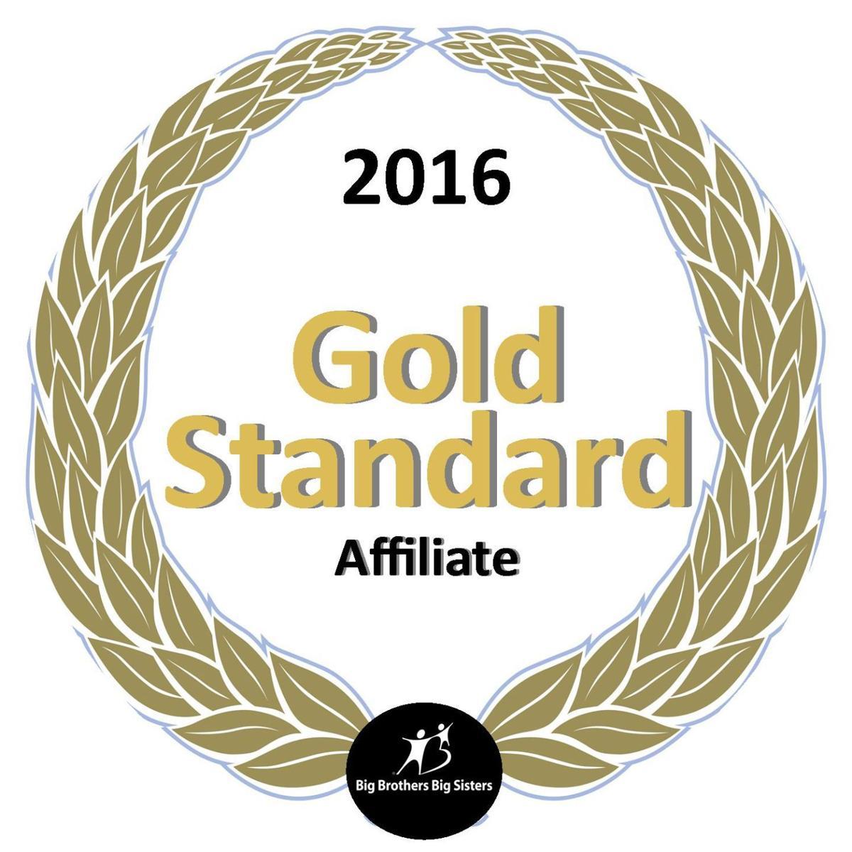 Big Brothers Big Sisters Gold Standard designation