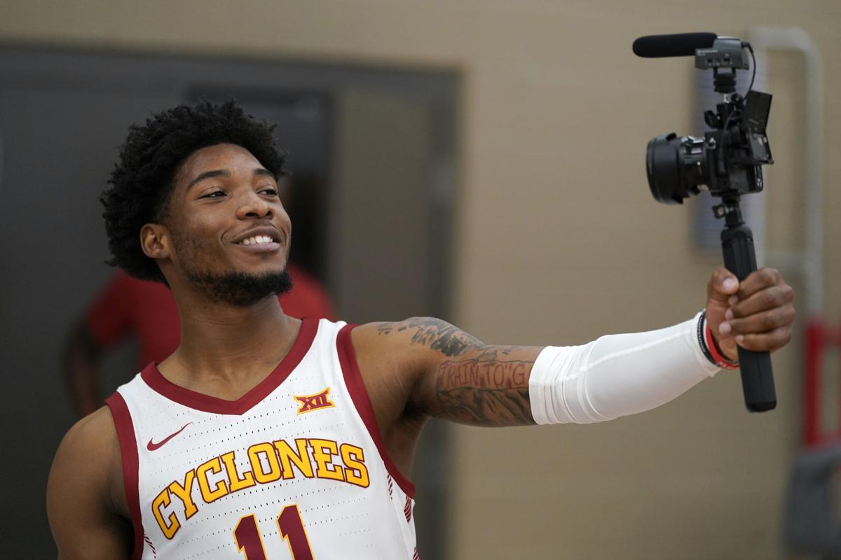 Iowa St Media Day Basketball