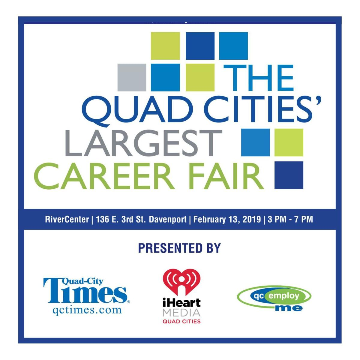The Quad-Cities' Largest Career Fair