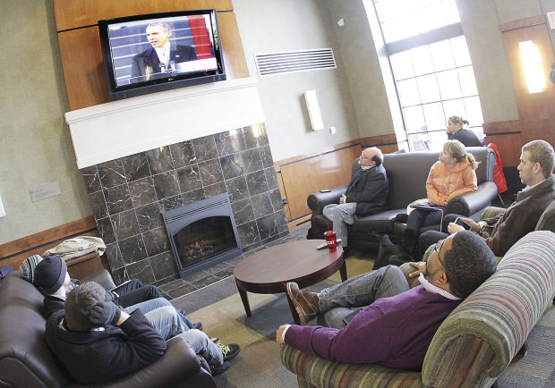 Inauguration watch party