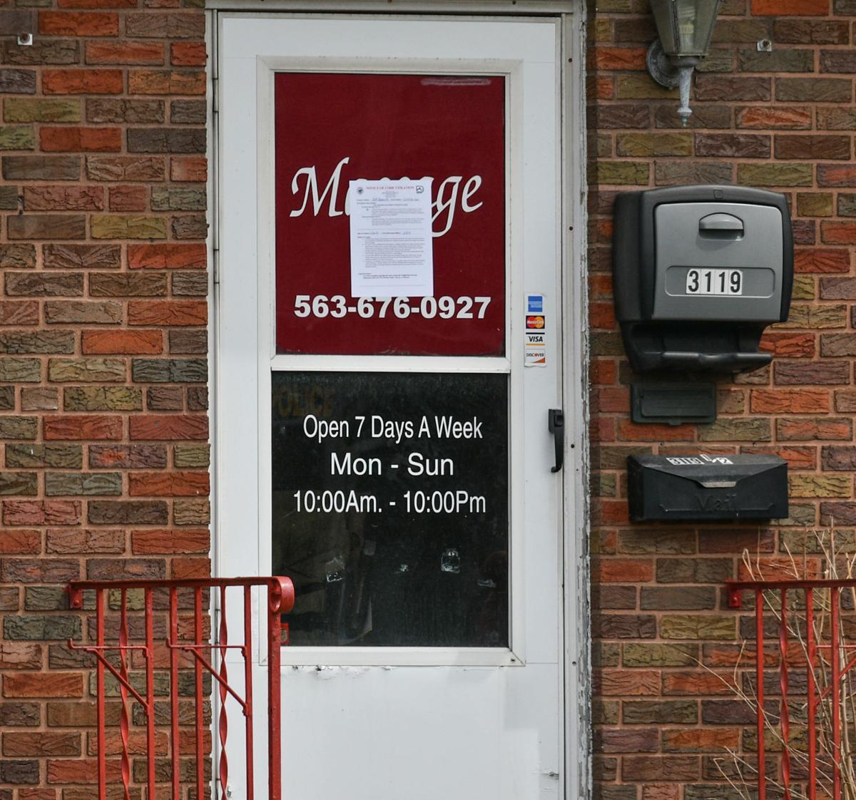 The seedy world of illicit Quad-City massage parlors: Police