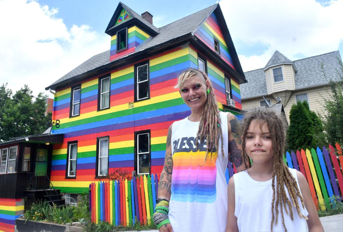 The Rainbow House gets to stay colorful. Moline officials have apologized  to its owner. | Local News | qctimes.com