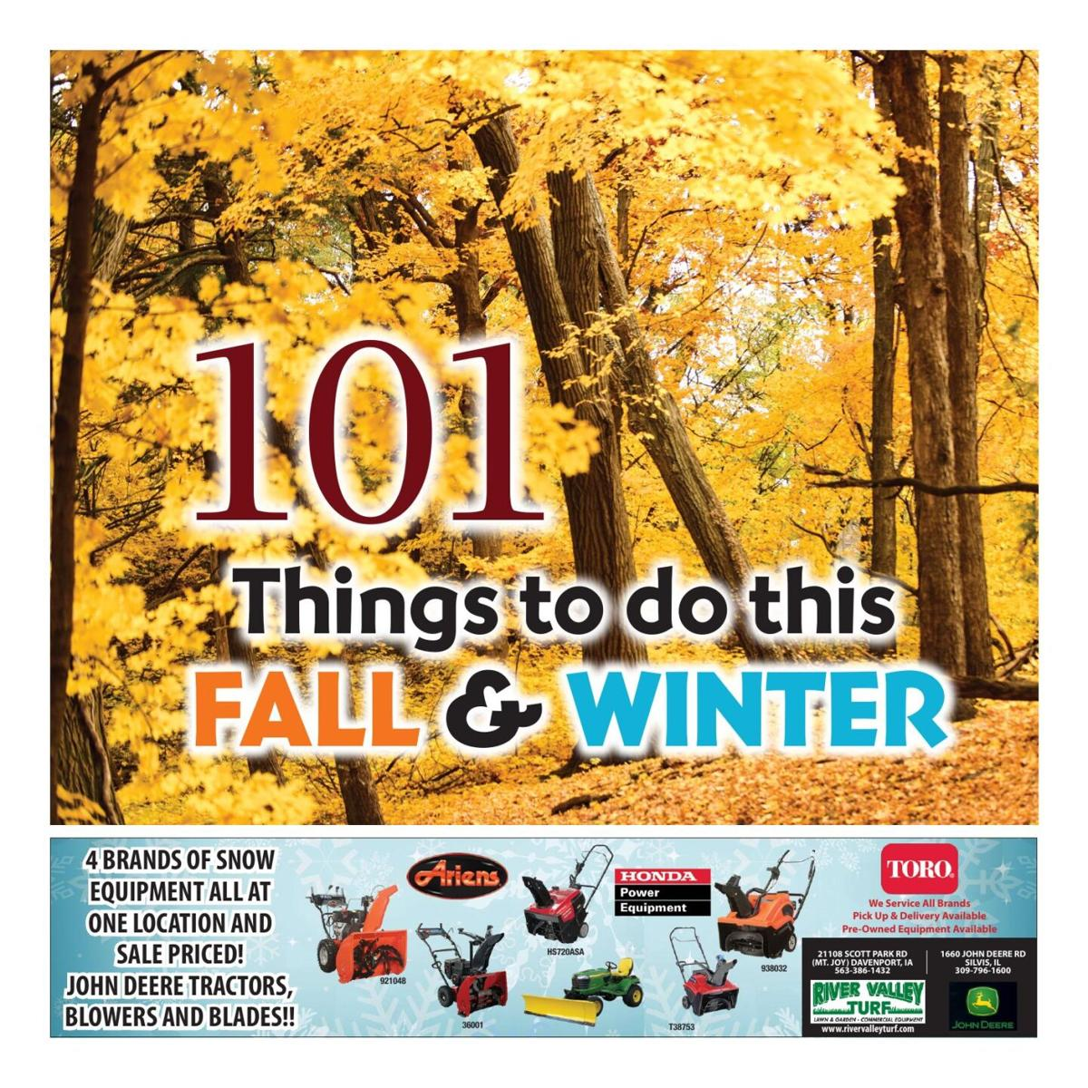 101 Things to Do this Fall & Winter