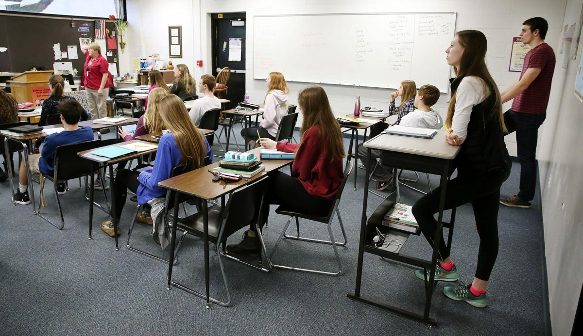 Standing desks a hit with bettendorf high students local for Table 52 chicago closing