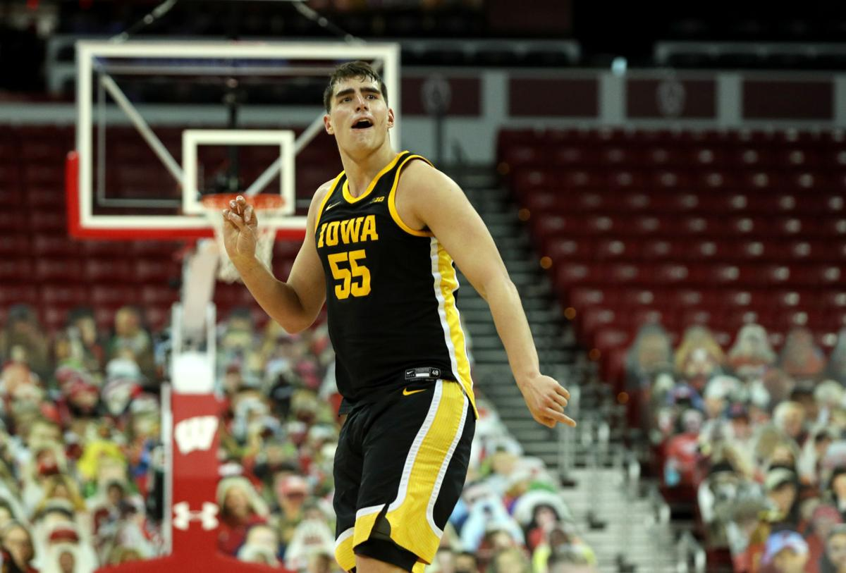 IOWA MEN'S BASKETBALL VS WISCONSIN