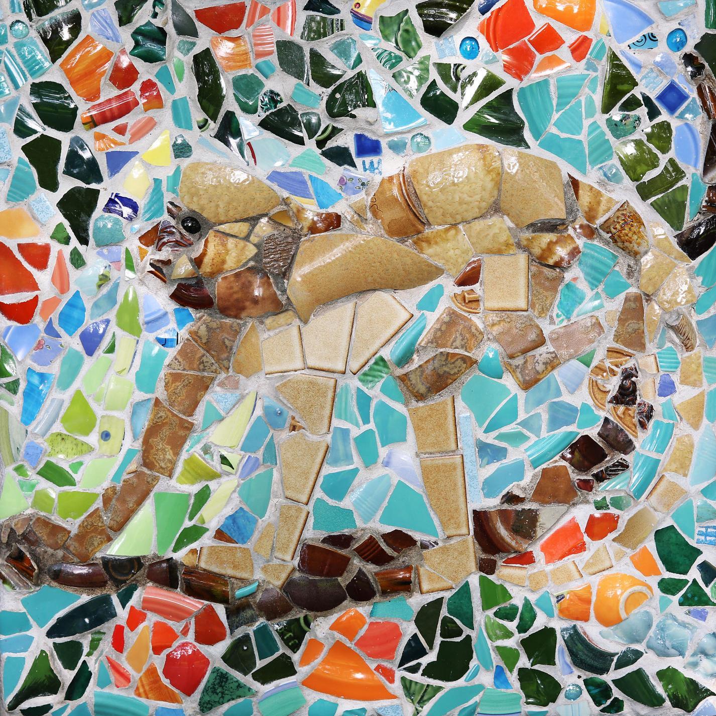 Broken Dishes Make Beautiful Mosaics Alma Gaul Qctimes Com