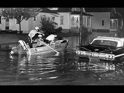Garden Addition Flood -- Aug. 4, 1965