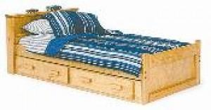 Bookcase Captain's Bed BK-1302