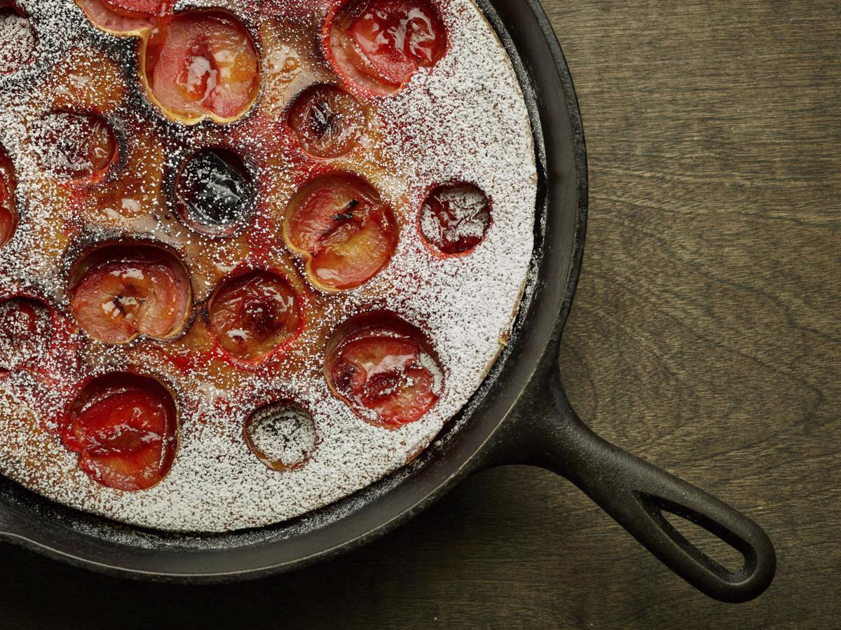 Food Culinary Institute of America Plum Clafoutis