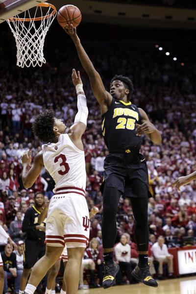 Iowa Indiana Basketball