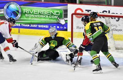 Quad City Storm vs Peoria Rivermen hockey