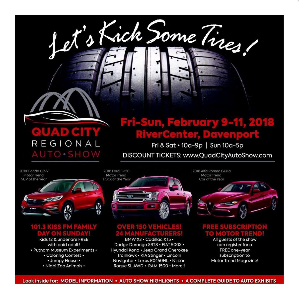 Quad City Regional Auto Show 2018