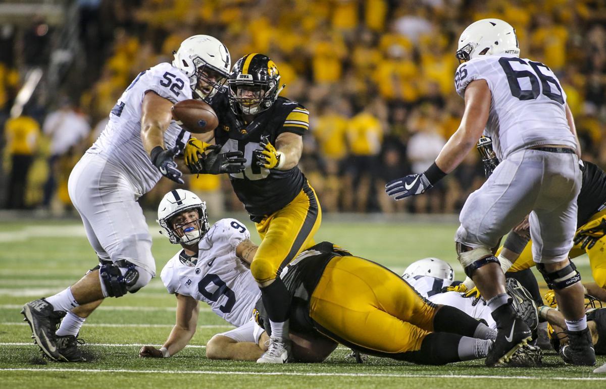 Outtakes: Iowa football