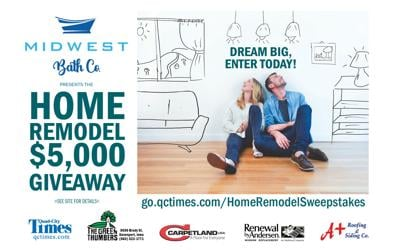 Enter the Midwest Bath Home Remodel $5,000 Giveaway