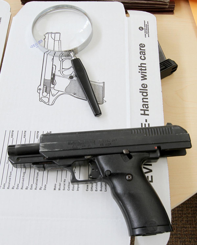 Gun Tracking