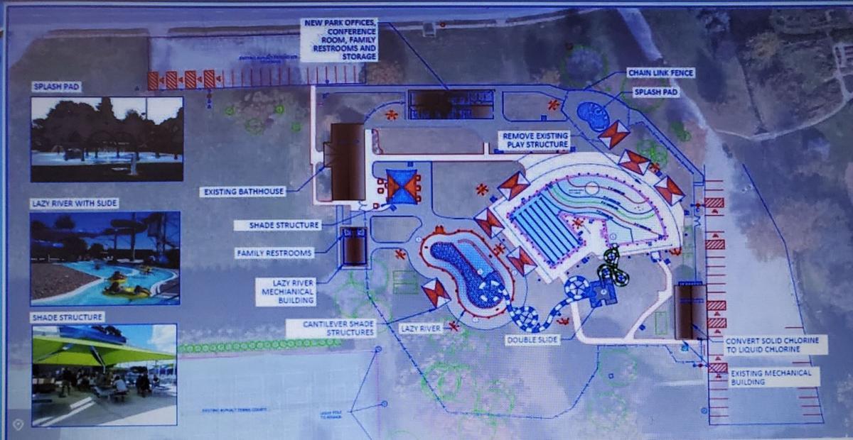 Moline Riverside Pool improvements