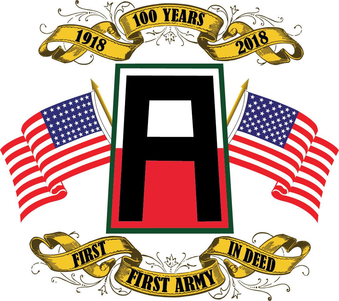 First Army centennial logo