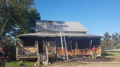 Muscatine house fire