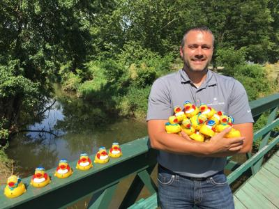 lighton with ducks