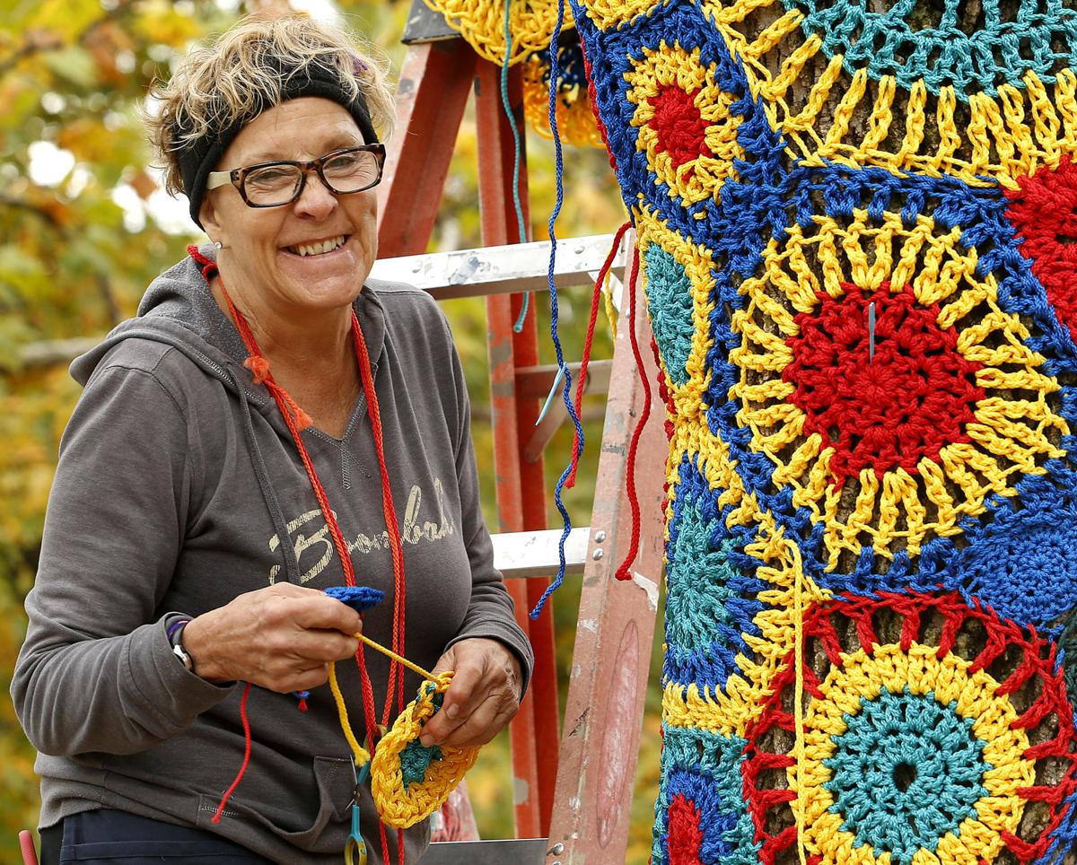 Q C Responds To Yarn Bomb Project In Big Way Local News
