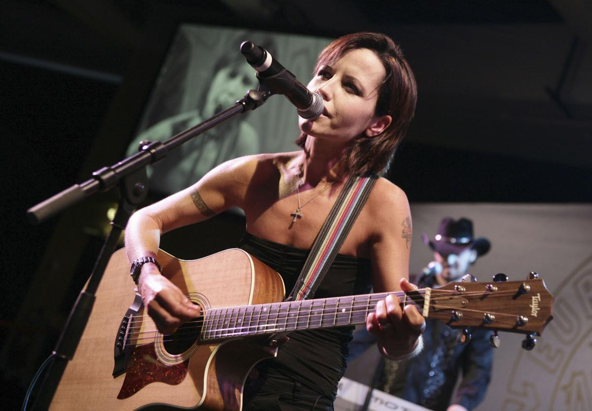 Delores O'Riordan, lead singer for The Cranberries