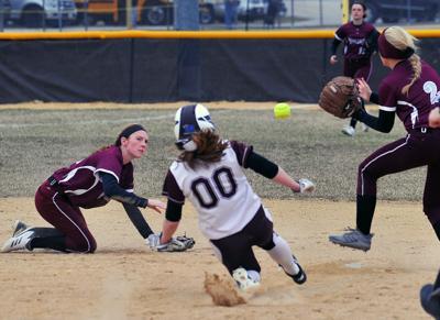 Moline vs Rockridge softball