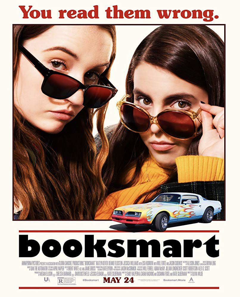 booksmart poster posters movie wilde olivia release film dvd kaitlyn dever abbey downton teaser classic director trailer linda cook why