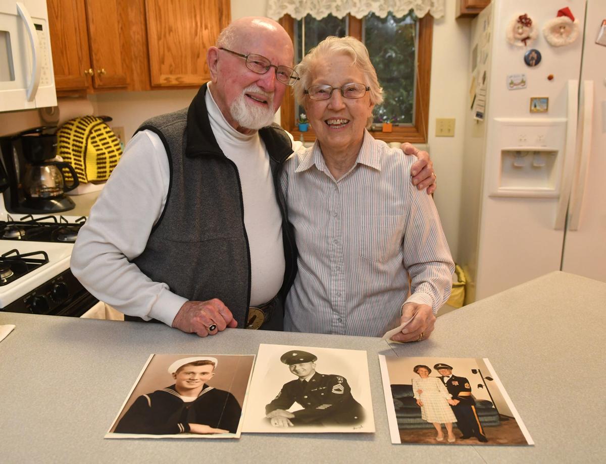 Jim Glaser served in three wars World War II, Korea and Vietnam