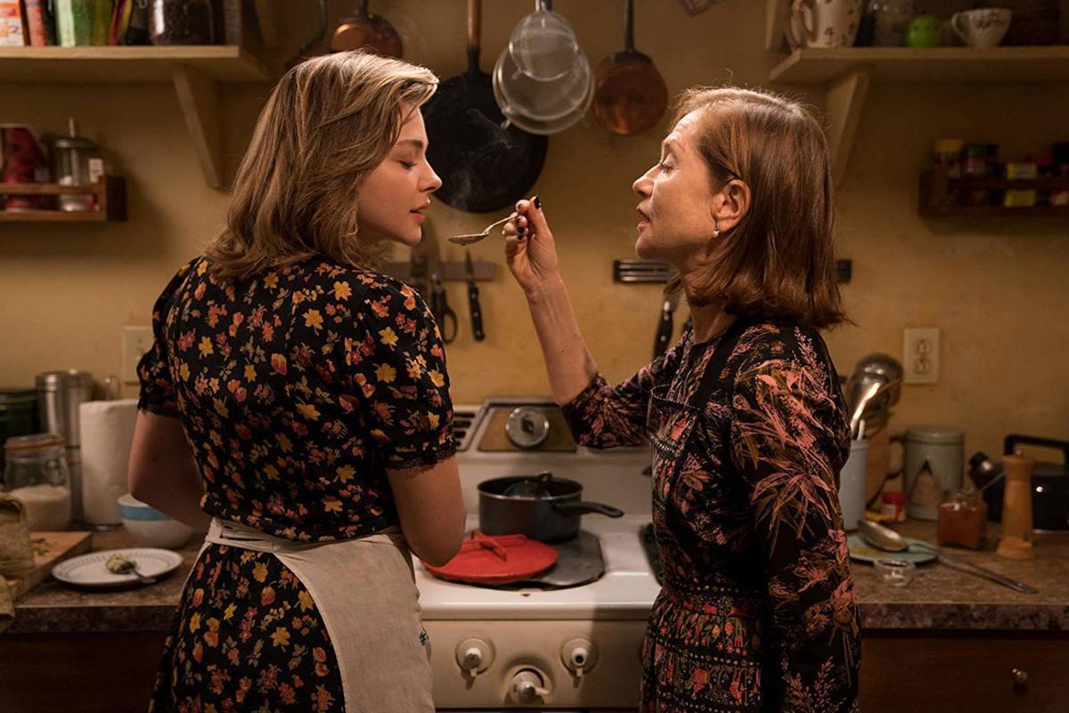 Chloe Grace Moretz and Isabelle Huppert