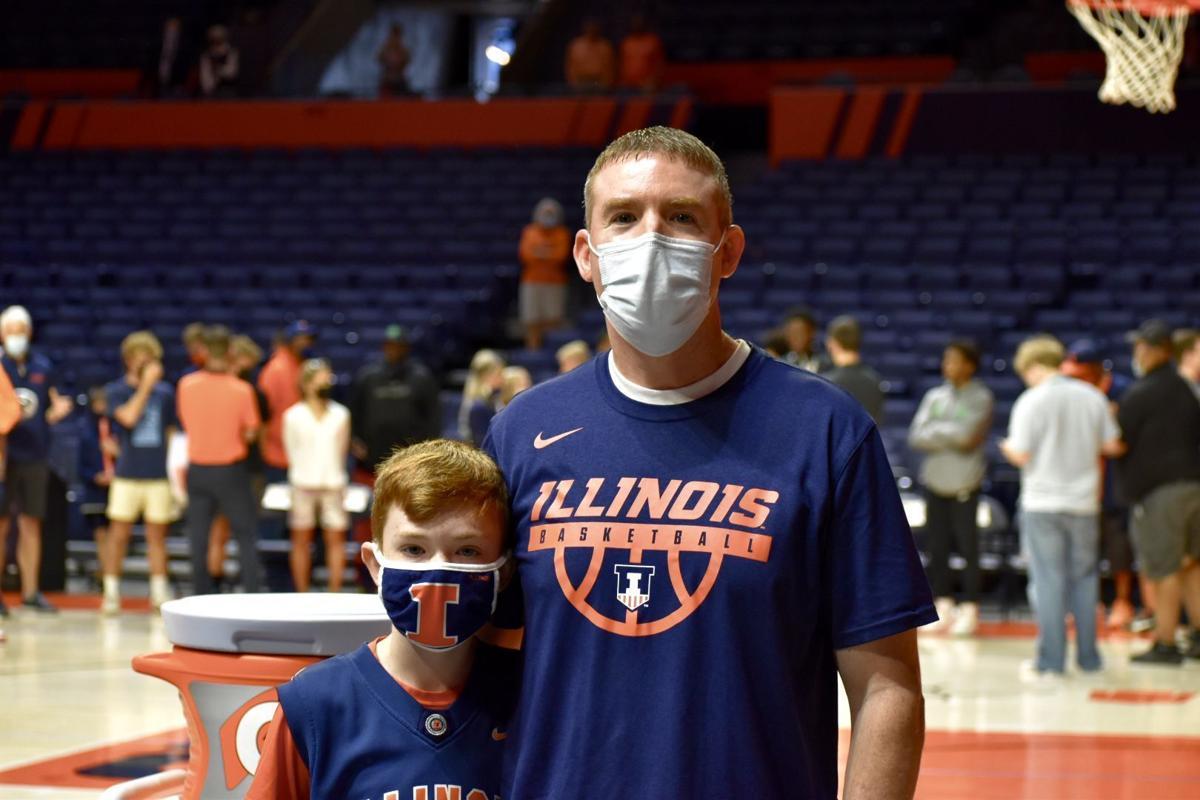 Illinois men's basketball open practice