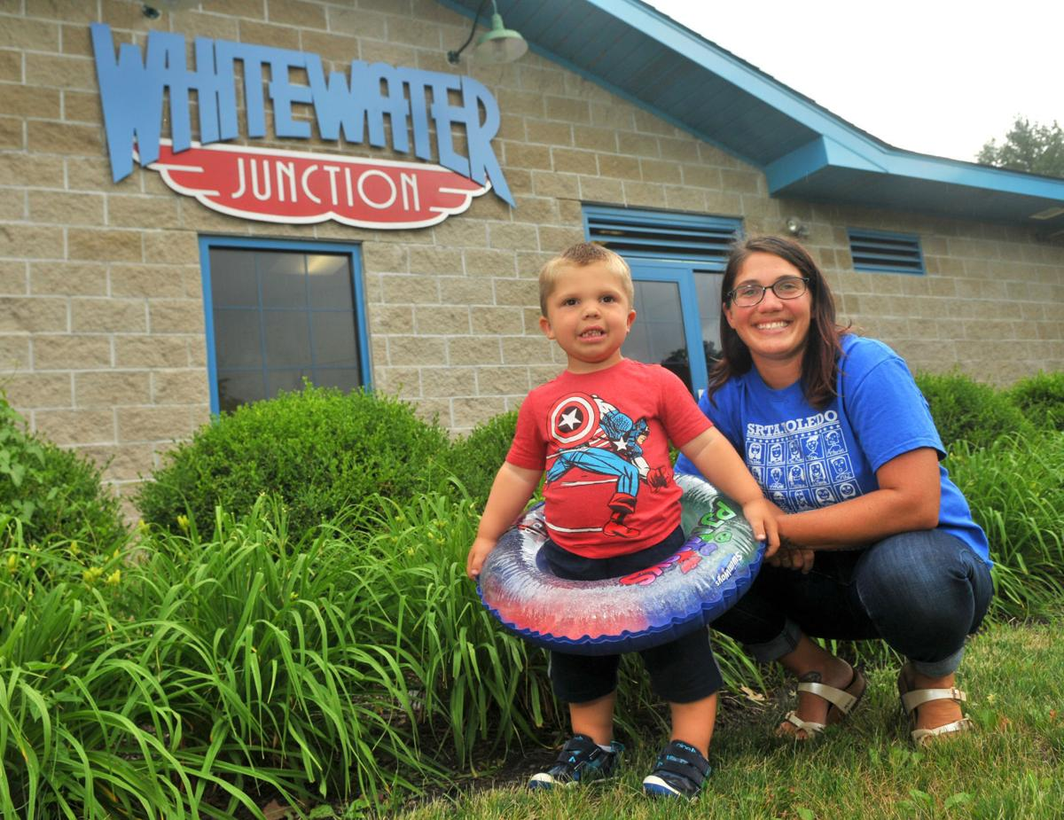 Cassandra Cleaveland son Gus not allowed to use flotation device at Whitewater Junction