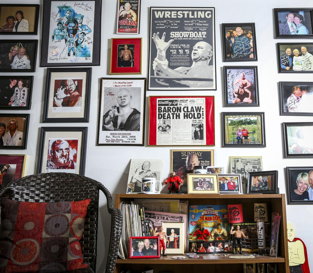 Notes @ Noon: Pro wrestling aficionado turns basement into 'fan cave' |  Notes @ Noon | qctimes.com