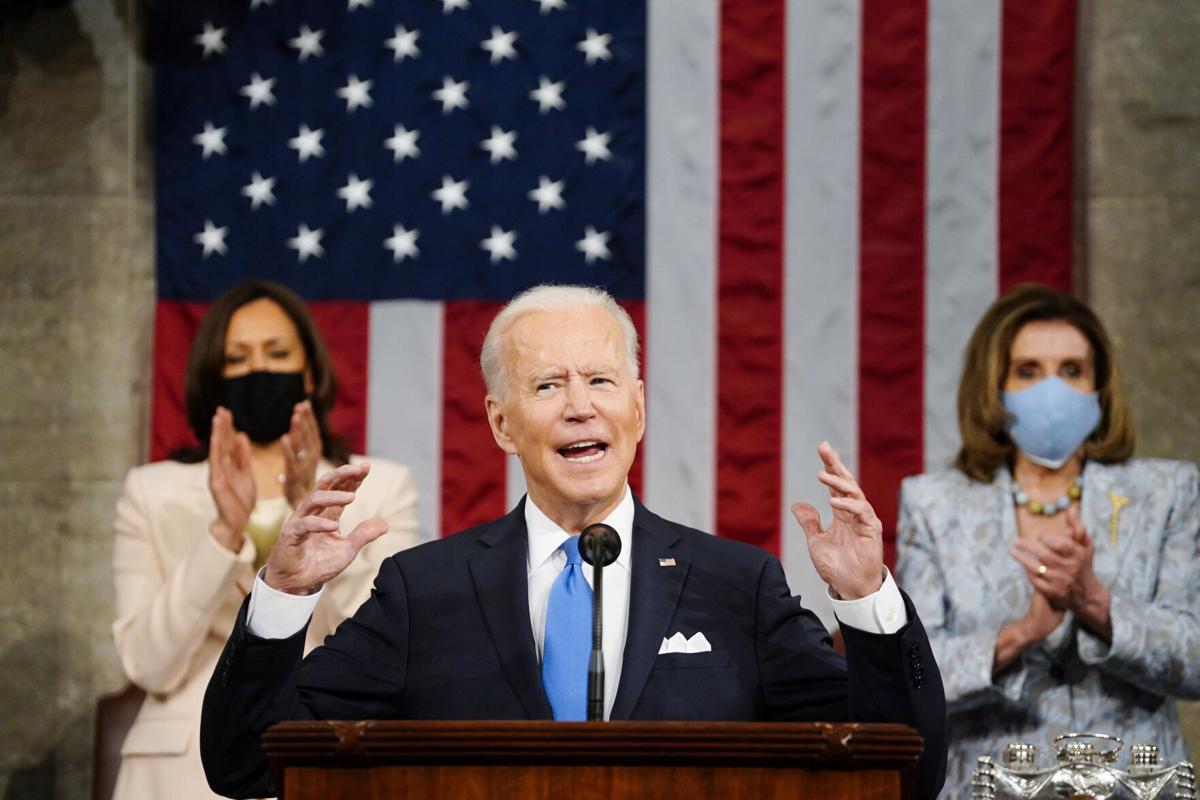 APTOPIX Biden 100 Days Congress